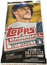 2017 Topps Series 1 Baseball Cards Hobby Pack