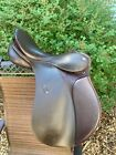 """passier ps-baum all-purpose english saddle 17"""" brown wither relief"""