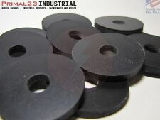 "10 Nylon Reinforced Neoprene Rubber Washers 1 1/4"" OD X 5/16"" ID X 1/8"" Thick"