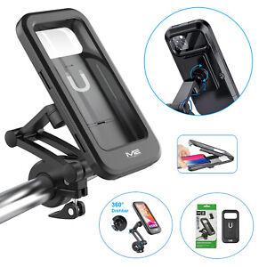 Fahrrad Motorrad Halterung Halter Handy Smartphone Wasserdicht bis 6,7 Zoll 360°
