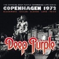 DEEP PURPLE - COPENHAGEN 1972 2 CD LIVE/BEST OF CLASSIC ROCK & POP NEW!