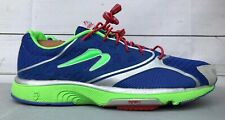 Newton Running Shoes MOTION 3 III Mens Size 10 US Green Blue Athletic Gym