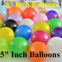 "Wholesale 5""inch Small Round Latex Best Balloons Quality Standard ballon Colour"