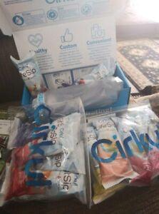 Cirkul Hydration Pack Water Bottle + 2 Pack LifeSip + FitSip&GoSip (New in Box)