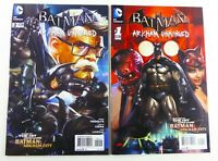 DC BATMAN: ARKHAM UNHINGED (2012) #1-2 VIDEO GAME Lot NM (9.4) Ships FREE!