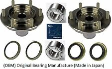Front Wheel Hub&Bearing&Seal Kit (OEM)KOYO For 2000-2006 Toyota Tundra 4WD(PAIR)