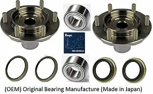 Front Wheel Hub&Bearing&Seal Kit (OEM)KOYO For 2000-2006 Toyota Tundra 4WD(PAIR)