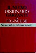 Il Nuovo Dizionario GARZANTI di FRANCESE - ITALIANO # ITALIANO -FRANCESE