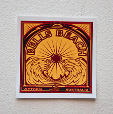 """BELLS BEACH Surfer Surfing Stickers Decals 2""""x2"""" Epic Surf Breaks Australia"""