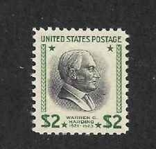 US 1938 Scott 833 $2 Harding Prexie XF MNH Mint Never Hinged  |