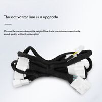 Car Speaker Cable Modification 8 Liters 14 Audio Activation Upgrade for Tes J9S6