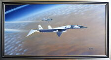 Dance of the Valkyrie - Original Oil on Canvas - by Mike Machat - XB-70 Valkyrie