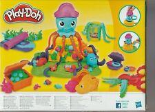 play-doh la pieuvre 5 pots de pate a modeler + accesoires neuf jamais ouvert