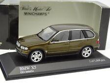Minichamps 1/43 - BMW X5 4.4I 2000 Green Olive