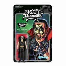 King Diamond ReAction 3 3/4-Inch Retro Figure Mercyful Fate Rare HTF OOP 1st Ed