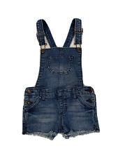 Cherokee Girls Overalls Denim Pants Size 5-6 Years Old Blue Vintage Cute