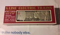 K-Line K-6477 D&RGW Cookie Box Classic Box Car Train