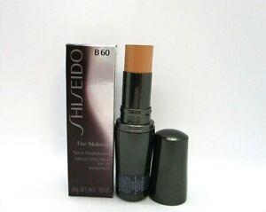 Shiseido The Makeup Stick Foundation SPF 20 ~ B 60 Natural Deep Beige ~ 10 g