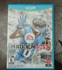 New ListingMadden Nfl 13 (Nintendo Wii U, 2012)