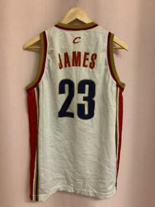 NBA CLEVELAND CAVALIERS BASKETBALL SHIRT JERSEY CHAMPION LEBRON JAMES #23