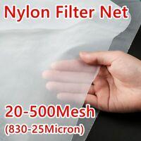 Food Grade Nylon Mesh Filter Net Micron Fabric Cloth Kitchen Oil Water Colanders