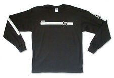 Metallica-Horizontal Stripe Logo-XXL Longsleeve Black T-shirt