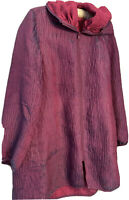 🌺🌺🌺 Gorgeous Mycra Pac Reversible Coat Size 1 (S/M) With Travel Bag
