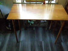 Vintage Antique Sewing Wood Folding Table