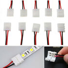 10Pcs LED Strip Connector PCB Cable 2 Pin 3528/5050 Single Color Adapter Useful
