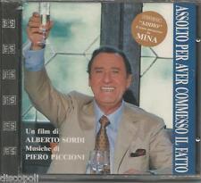 PIERO PICCIONI Assolto per aver SORDI MINA CD OST 1992