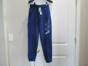 BNWT PUMA Youth boys athletic pants, cotton blend, Pick size, Non fleece, Navy