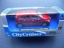 CITY CRUISER MODELLINO AUTO MERCEDES BENZ B- CLASS 2006 SCALA 1:43