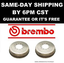 2x GENUINE BREMBO 14.7089.10 14708910 Rear Brake Disc Drum