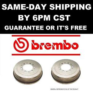 2x GENUINE BREMBO 14.7089.10 14708910 Rear Brake Disc Drum