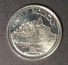 1986 CASTLE MOUNTAIN ROYAL CANADIAN MOUNTED POLICE 100 Years Banff Token Medal