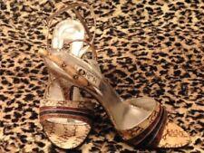 Chaussures vintage vintage véritable noir pour femme Années 1970