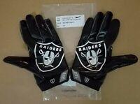 #89 Amari Cooper of Oakland Raiders NFL Locker Room Game Issued Gloves (2XL)