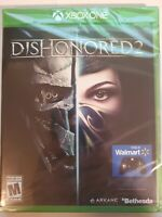 DISHONORED 2 XBOX ONE -  FACTORY SEALED - Free Shipping!