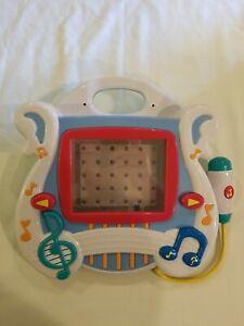 2002 Mattel Learn Through Music System NO CARTRIDGES READ DESCRIPTION