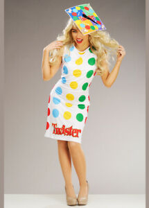 Adult Womens Twister Board Game Costume