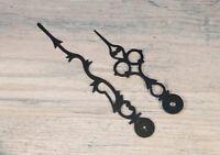 Howard Miller Grandfather Clock Hands 4 3/4 Inch Black Serpentine Mechanical