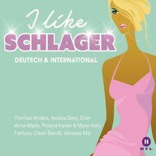 I LIKE SCHLAGER DEUTSCH & INTERNAT. (ANDREA BERG/THOMAS ANDERS/CHER) 3 CD NEW