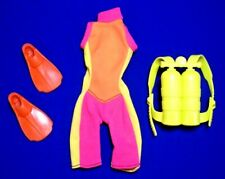 Barbie Scuba Diving Outfit Vintage 1990