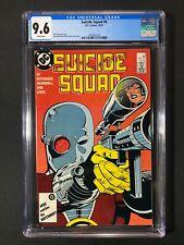 Suicide Squad #6 CGC 9.6 (1987) - Deadshot cover