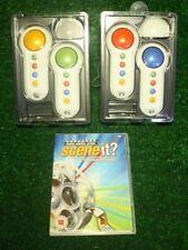 Scene it Lights Camera Action Spiel + 4 Controller Familie Spaß Kleinkram Xbox 360