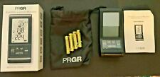 PRGR Black Portable Launch Monitor Red Eyes Pocket HS-120A golf baseball NEW