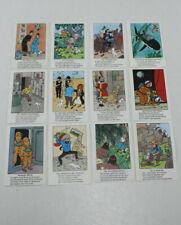 Tim und Struppi/ Tintin alte Sammelbilder 12 verschiedene/ Carlsen Verlag/ 70-er