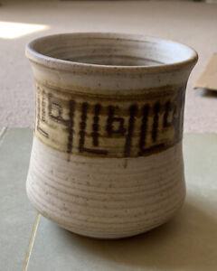Studio Pottery Bowl Marked AB 10cm