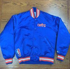 New listing Vintage 80s 90s Cleveland Cavaliers Starter Nylon Satin Jacket Sz S Blue Men's