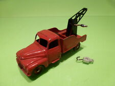 DINKY TOYS 582 CITROEN 23  RECOVERY TRUCK - RED  1:50? - GOOD CONDITION